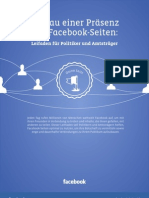 Aufbau einer Präsenz mit Facebook-Seiten