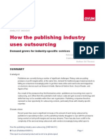 How the Publishing Industry Uses Outsourcing