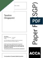 F6sgp 2006 -Singapore Tax