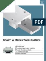 DryLin W Modular Guide Systems