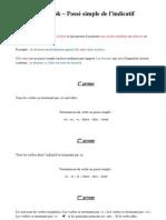 Lapbook – Passé simple de l'indicatif