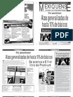 Versión impresa del periódico El mexiquense 16 julio 2012