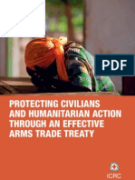 Protecting civilians and humanitarian action through an effective Arms Trade Treaty