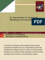 Chap001 Integrated Marketing Communications