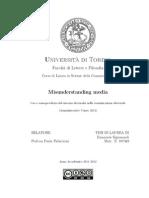 Misunderstanding media - Uso e consapevolezza del sistema dei media nella comunicazione elettorale (Amministrative Cuneo 2012)