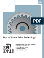 DryLin Linear Drive Technology