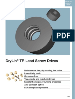 DryLin TR Lead Screw Drives
