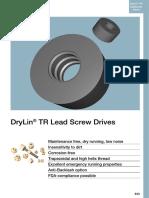 DryLin TR Lead Screw Drives