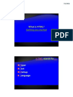 01 - HTML Basics