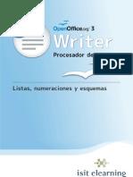 T02 L03 WRITER Listas Numeraciones y Esquemas