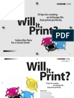 PDF Indesign Guidelines