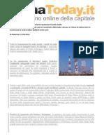 2012 - Giugno 12 - RomaToday.it - Radio Vaticana, Da 1 Luglio Terminano Trasmissioni in Onde Medie