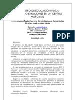 Artículo EF emocional en Congreso Huelva 2012