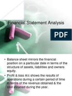 CH6-Financial Statement Analysis