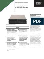 IBM FAStT600 Datasheet