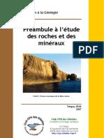 Préambule à l'étude des roches et des minéraux