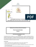 Plano Anual Activ 2011-2012 Biblioteca Escolar