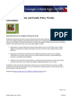 Military Community & Family Policy Newsletter