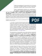 PSICOLOGIA CFP é contrário à regulamentação da atividade de psicopedagogia