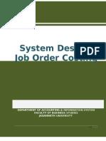 Job Order Costing JNU