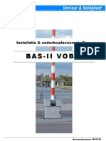 NMA v&v - Installatie & Onderhoudsvoorschrift BAS-II VOBB