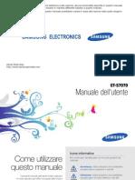 Manuale Samsung