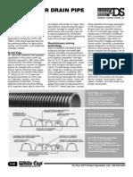 ADS Corrugated Polyethylene Pipe