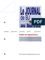 Taille vs. Importance