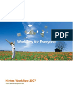 Nintex Workflow 2007 SDK 1.2