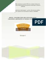D9CM3 - Construction Des Connnaissances