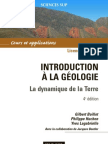Introduction a La Geologie