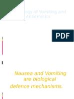 Vomiting and Antiemetics