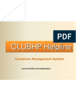 Club Hp Helpline