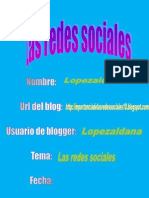 Documento de La Redes Sociales