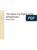 The Value of a Patent
