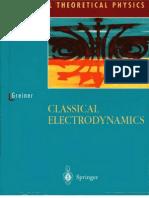 Classical Electrodynamics - W. Greiner