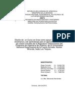 DISEÑO TECNOLÓGICO INSTRUCCIONAL Curso on line