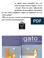 Gato Manual Do Proprietario