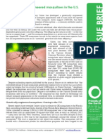 Issue Brief GE Mosquitoes in U.S