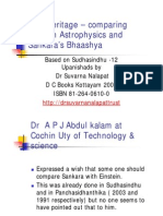 Comparison of Post-Einsteinian and AdiSankara [Compatibility Mode]