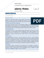 Skills Academy Wales Website Design.docx