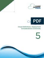 Cif White Paper 5 2012 Cloud Definitions Deployment Considerations Diversity