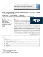 Planning and Analysis of Integrated Community Energy Systems