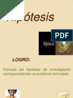Clase 10 - Hipotesis y Variables