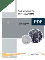 WiFi WiMax White Paper