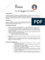 Instructivo de Practica Comunitaria Julio 2012.