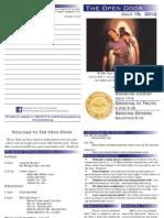 The Open Door Bulletin - July 15, 2012