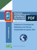 PTEHPC_Estado_Tecnologia_H2&PC_España_2007