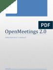 OPENMEETINGS 2.0 - Administrator's Manual