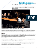 Eschenbach Duo-Piano Festival at the Poetic Barto - Ruhrnachrichten